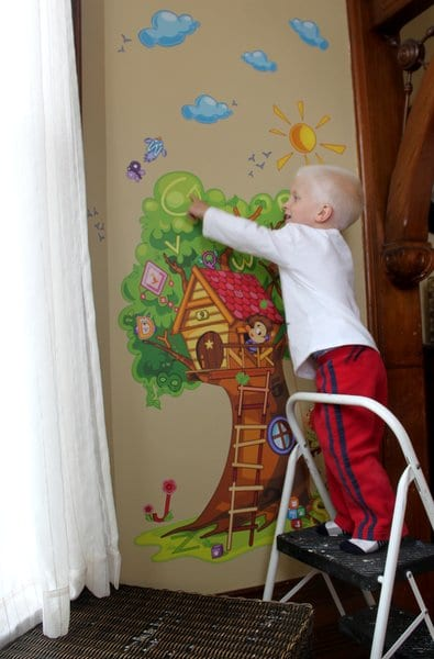 Wallzical 'Searching Tree'wall decal for kids
