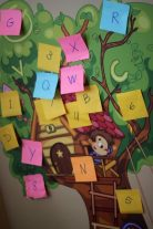 Sticky Note Letter Scavenger Hunt