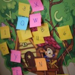 Letter Scavenger Hunt with Wall Decals for Kids