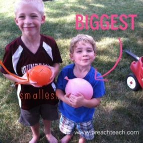 Ways to Have Fun with Water Balloons from PreachTeach