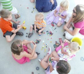 Easy Lego Party Games for Kids from A Mom with a Lesson Plan