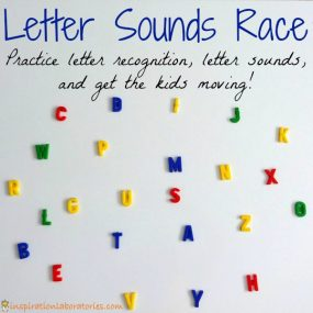 Letter Sounds Race