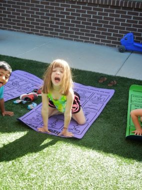 Summer Yoga for Kids from Lazy Lizards Yoga