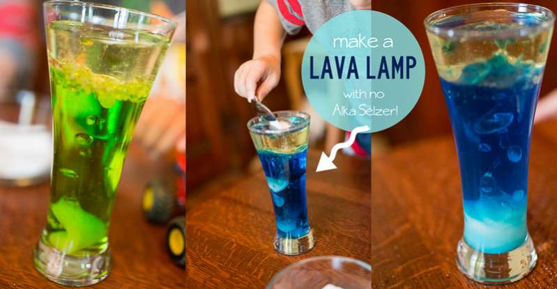 How to Make a Lava Lamp Without Alka Seltzer | Hands On As We Grow