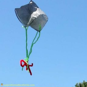 How to Make a Parachute from Inspiration Laboratories