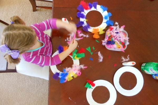Make your own Thanksgiving turkey ring toss game