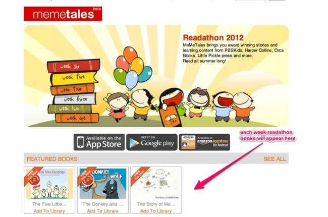 On Memetales - Check out the Readathon Books #readforgood