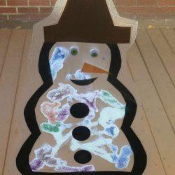 Snowman Suncatcher Craft 6436214327 78d468da18