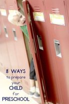 8 ways to prepare your child for preschool