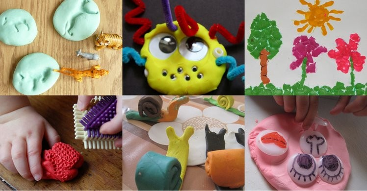34 fun things to do with play dough when you can't come up with anything else