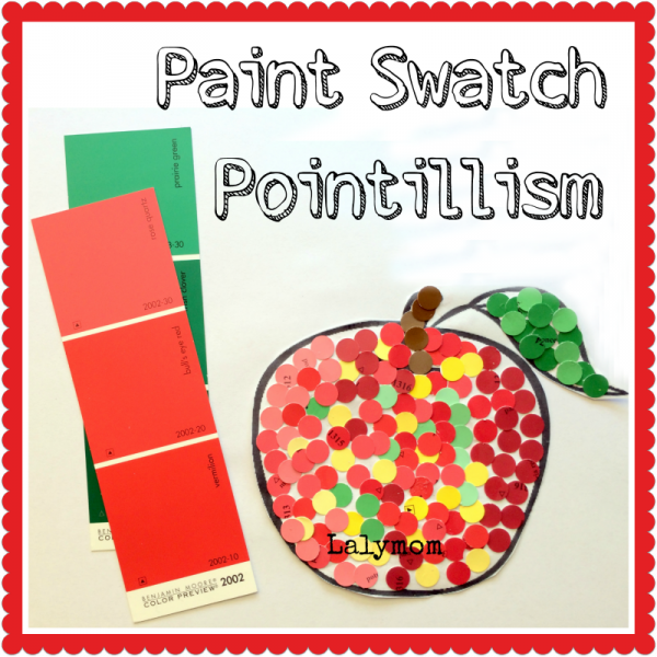Pointillism-Art-Project-for-Kids-from-Lalymom