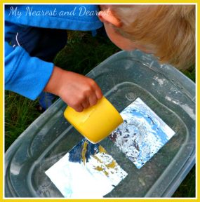 Water, Mirrors, and Reflections: A Physics Investigation for Preschoolers from My Nearest and Dearest