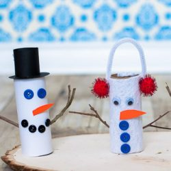 24 Super Cute Snowman Crafts For Kids To Make Hoawg