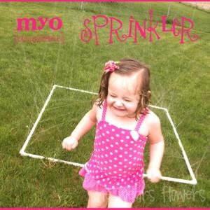 PVC Sprinkler to Beat the Heat
