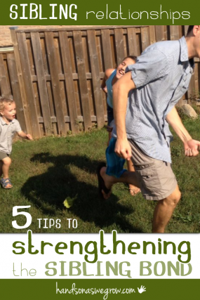 5 tips to strengthen the bond between siblings.