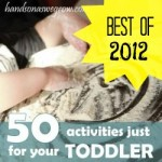 Best Toddler Activities from 2012