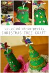 upcycled christmas tree craft