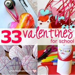 33 Kids Valentines to Make for School