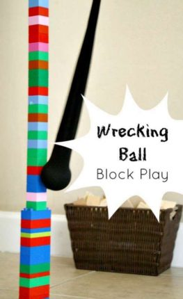 Wrecking Ball Block Play from Fantastic Fun and learning