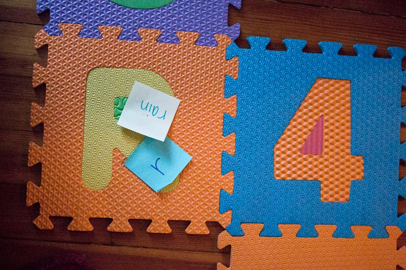 Both matching upper and lowercase letters and beginning letters of words
