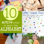 10 Active Activity Ideas to Learn the Alphabet