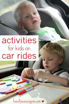 Activities for kids to do on car rides