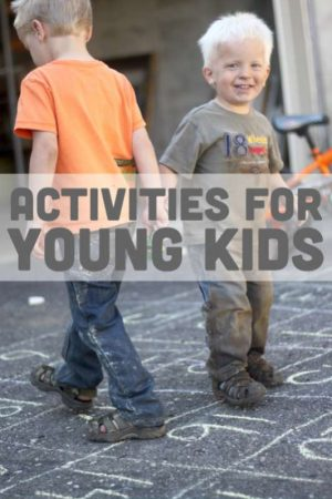 Many activities for young kids