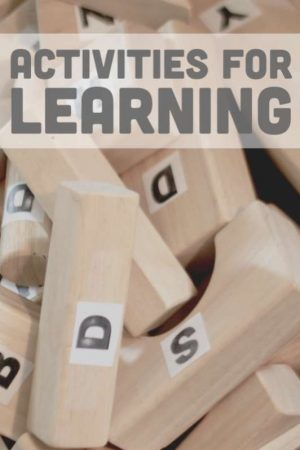 Lots of learning activities for toddlers, preschoolers and school kids.