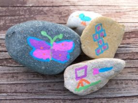 Outdoor Activity Rocks from Edventures with Kids
