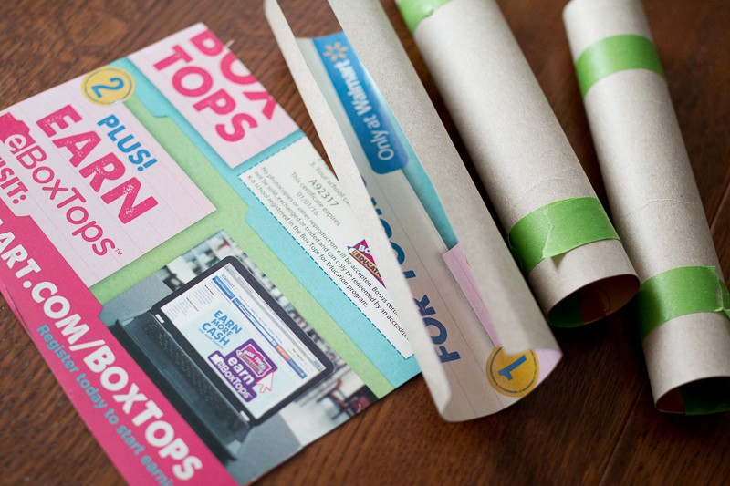 Make your own cardboard tubes (no toilet paper tubes!) for crafts and activities