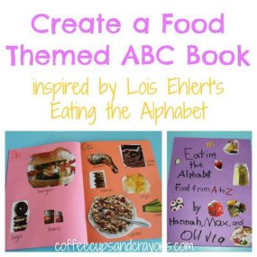 Create a Food Themed ABC Book