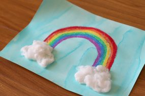 Rainbow Art for Kids from Buggy and Buddy
