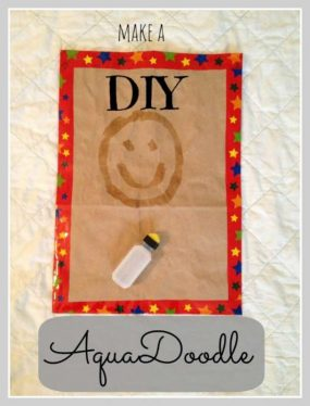 DIY AquaDoodle from Munchkins and Moms