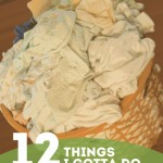 12 Things I Gotta Do Before the Baby Arrives!