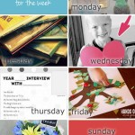 Back to School Activities for the Week – Weekly Activities Planner