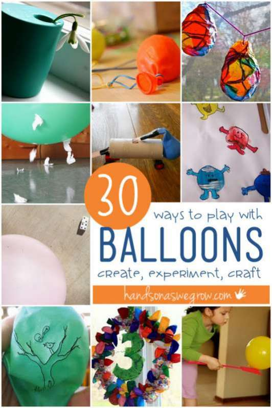 Play With Patterns Prints And Lots Of Accessories For: 30 Ways To Play With Balloons
