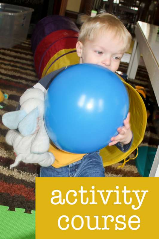 The Kids Would Love This Activity Course With Balloons