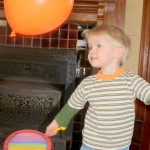 Balloon Badminton Activity for Kids
