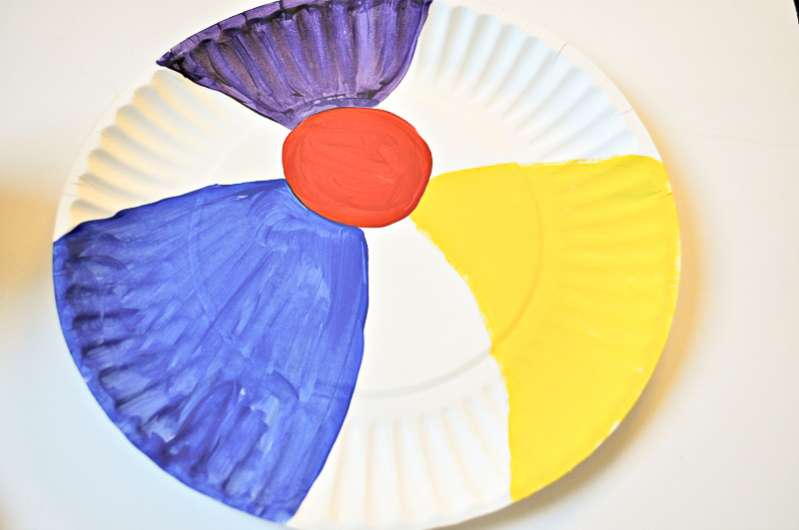 Paper plate beach ball craft & 3 Sizzlinu0027 Beach Crafts for Kids to Make for Dinnerware