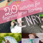 20+ Activities to Start Learning Letters