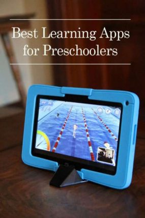 Take control of kids technology with Kurio - plus the best learning apps for preschoolers to use