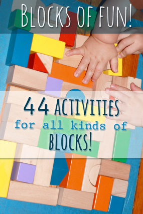 Block activities for preschoolers