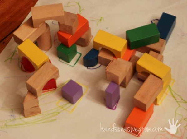 Most used kids craft supplies hands on as we grow for Plastic blocks for crafts