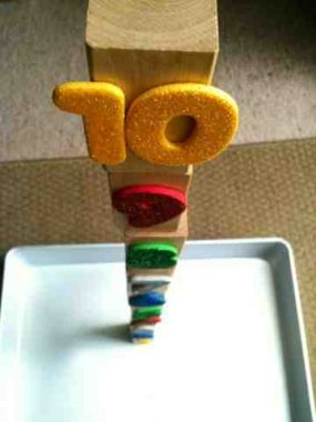 Number Tower from For The Love of Learning