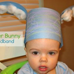 Easter Bunny Hat from No Time for Flash Cards