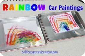 Rainbow Car Paintings