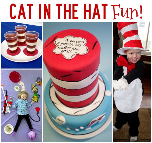 Fun activities to celebrate the Cat in the Hat! 20 Cat in the Hat Activities!