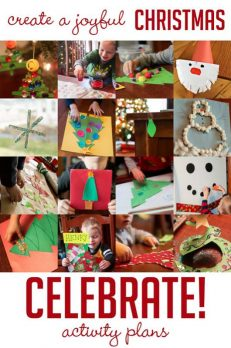 Create a joyful Christmas with activity plans for the holidays