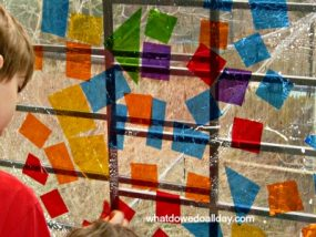 Stained Glass Window Art Project