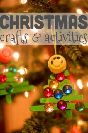 Lots of Christmas crafts and activities for kids